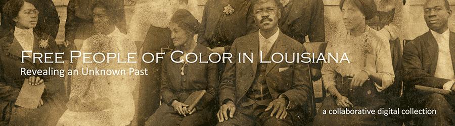 Free people of color Free People of Color in Louisiana