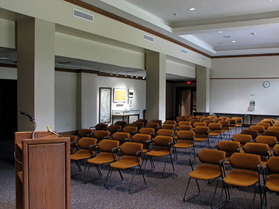 Hill Memorial Library Lecture Hall